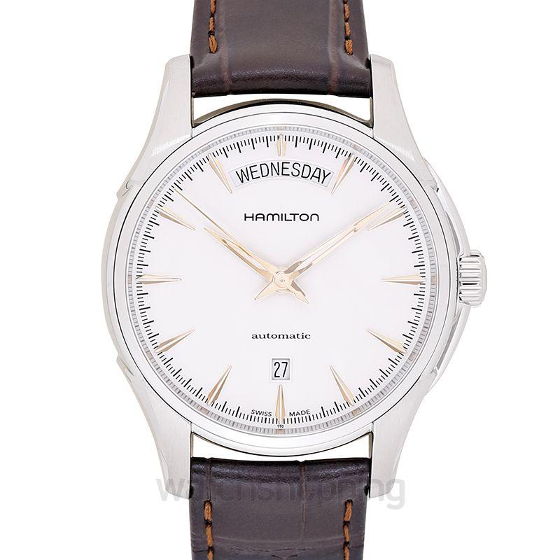 Hamilton Jazzmaster Automatic White Dial Stainless Steel Men's Watch