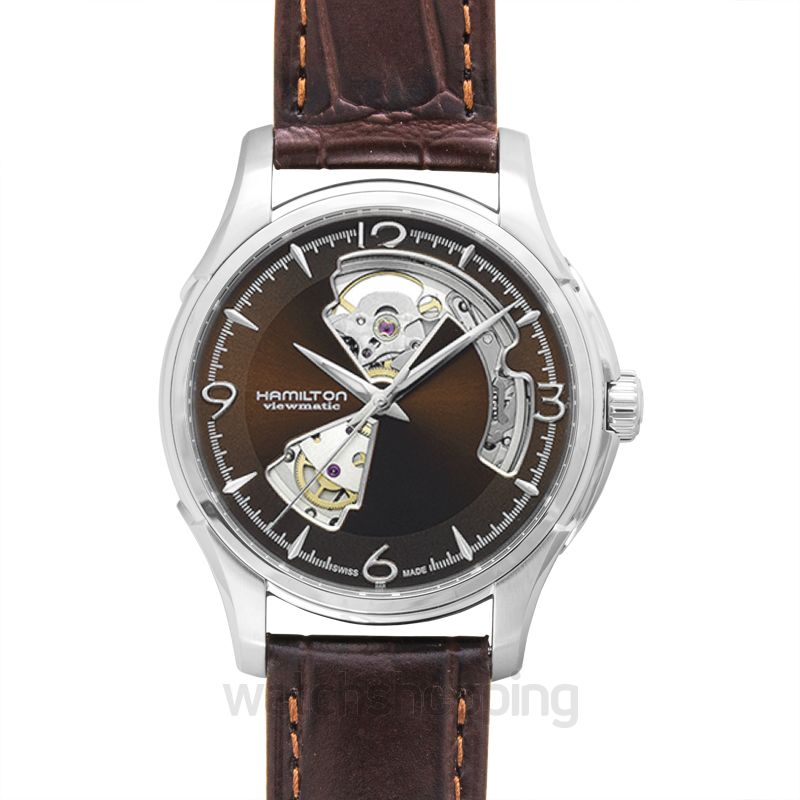 Hamilton Jazzmaster Automatic Brown Dial Stainless Steel Men's Watch