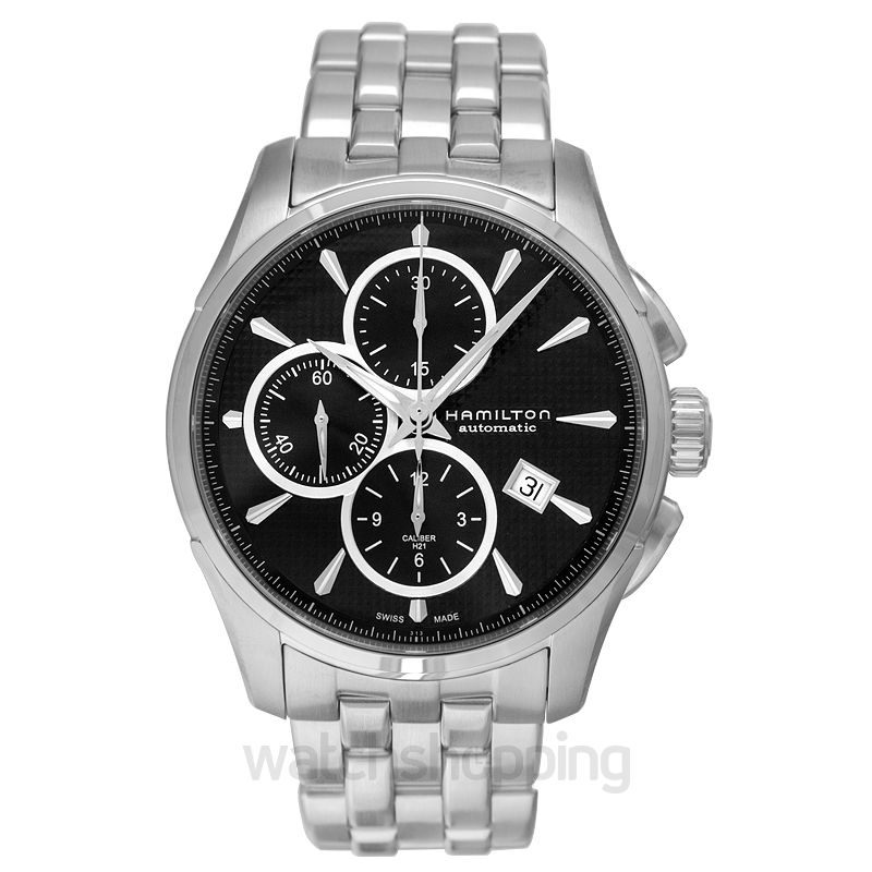 Hamilton Jazzmaster Automatic Black Dial Stainless Steel Men's Watch
