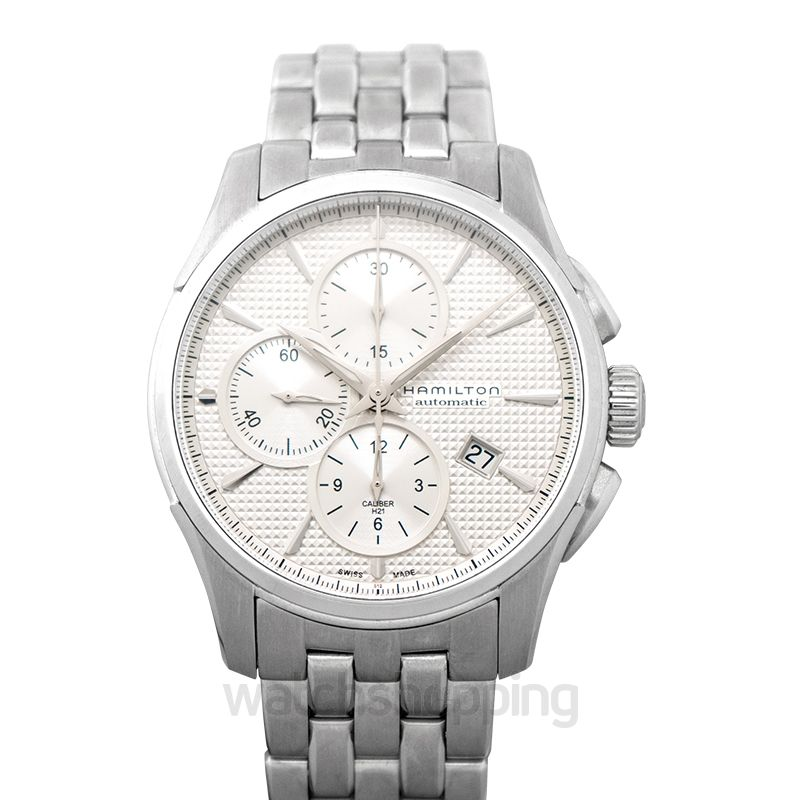 Hamilton Jazzmaster Chronograph Automatic Silver Dial Stainless steel Men's Watch