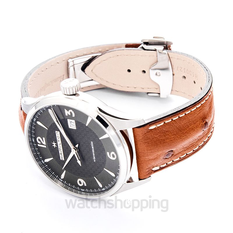 Hamilton Jazzmaster Automatic Grey Dial Stainless Steel Men's Watch