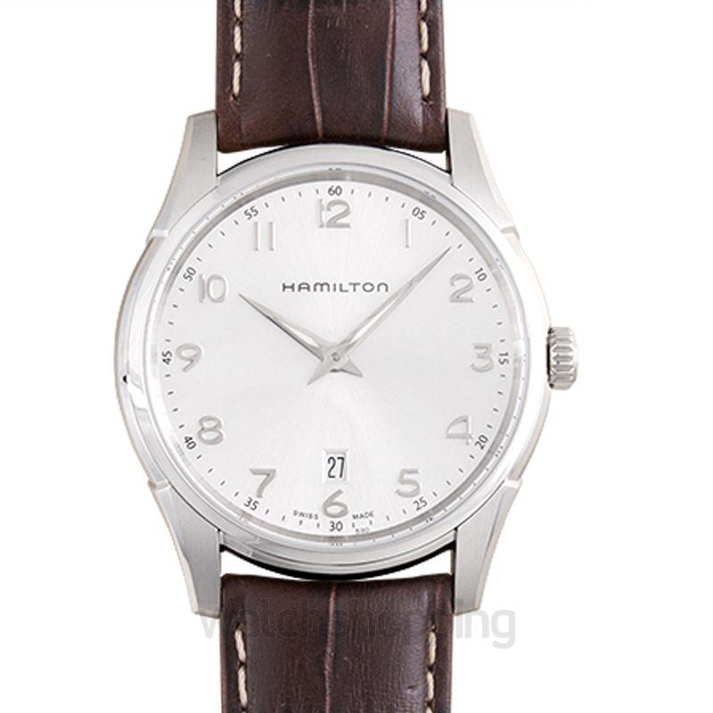 Hamilton Jazzmaster Quartz Silver Dial Stainless Steel Men's Watch