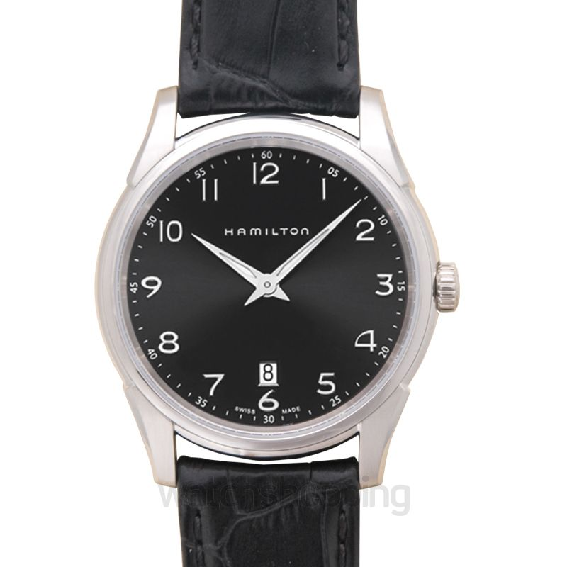 Hamilton Jazzmaster Quartz Black Dial Men's Watch