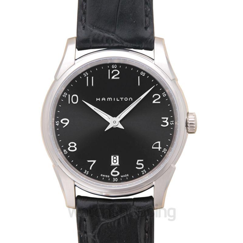 Hamilton Jazzmaster Quartz Black Dial Stainless Steel Men's Watch