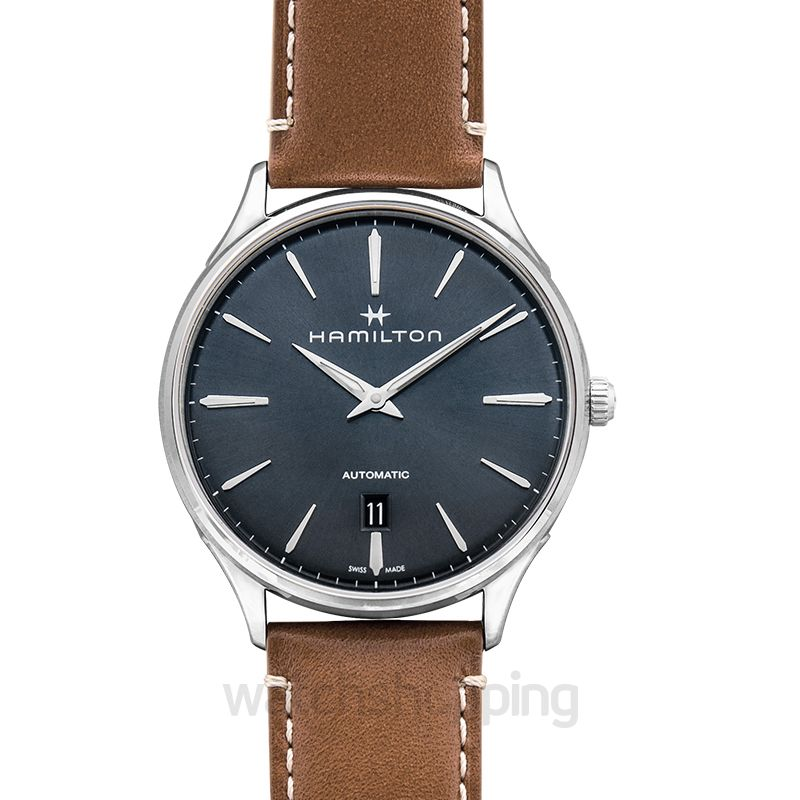 Hamilton Jazzmaster Automatic Blue Dial Stainless Steel Men's Watch