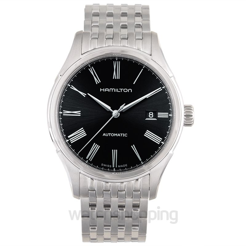 Hamilton American Classic Automatic Black Dial Stainless Steel Men's Watch