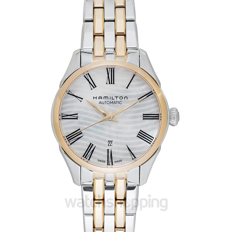 Jazzmaster Automatic Mother Of Pearl Dial Stainless Steel Ladies Watch