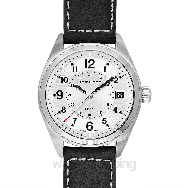 Hamilton Khaki Field Quartz Silver Dial Stainless Steel Men's Watch