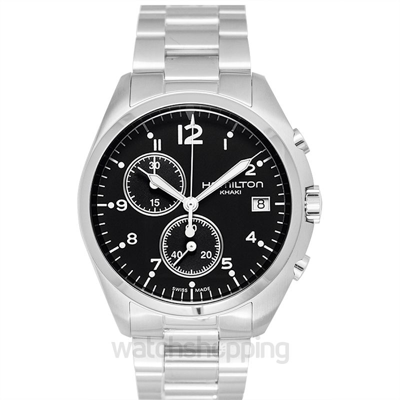 Hamilton Khaki Aviation Quartz Black Dial Men's Watch