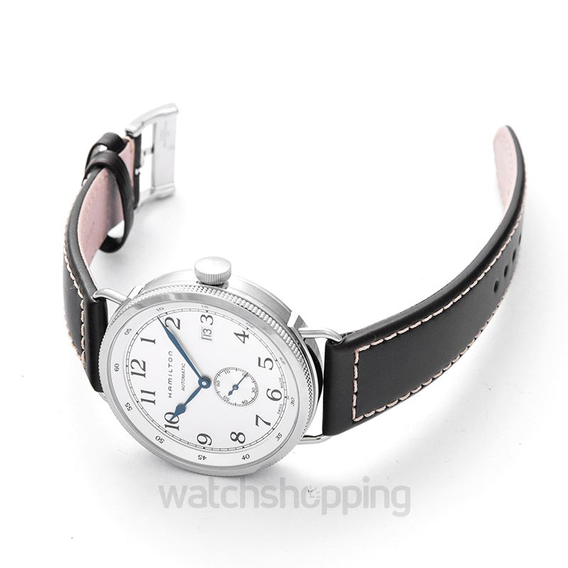 82a36211403 New Hamilton Navy Pioneer Automatic Silver Dial Men s Watch H78465553  H78465553 Hamilton Khaki Navy Watch