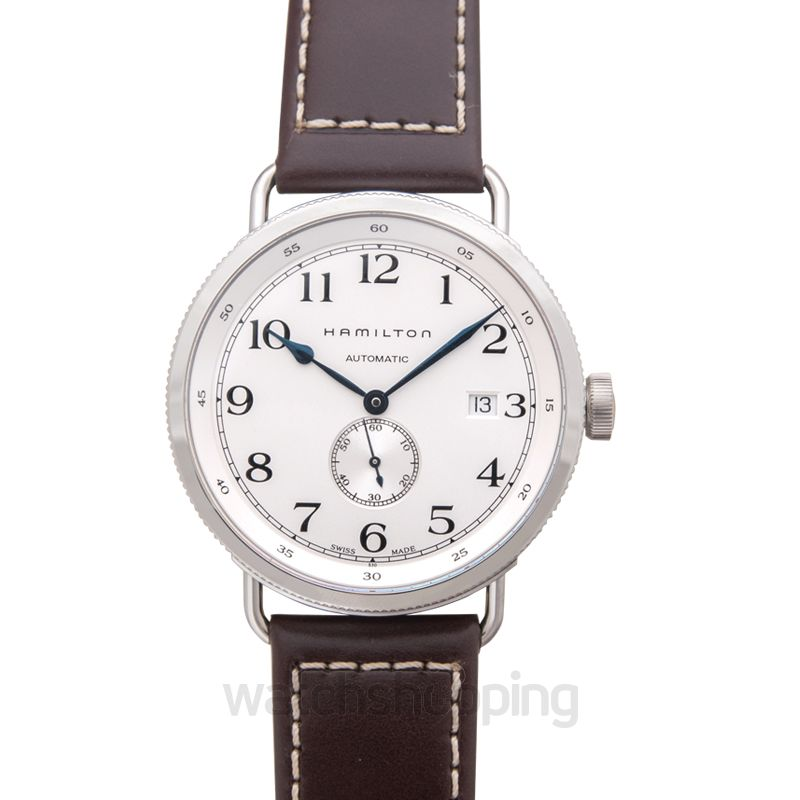 Hamilton Khaki Navy Automatic Silver Dial Stainless Steel Men's Watch