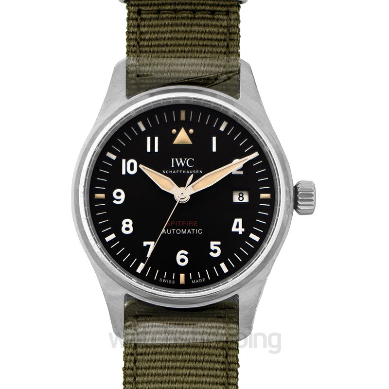 IWC IWC Pilot's Watch Automatic Spitfire Stainless Steel Black NATO
