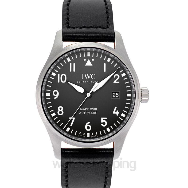 IWC IWC Pilot's Mark XVIII Automatic Black Dial Men's Watch IW327001