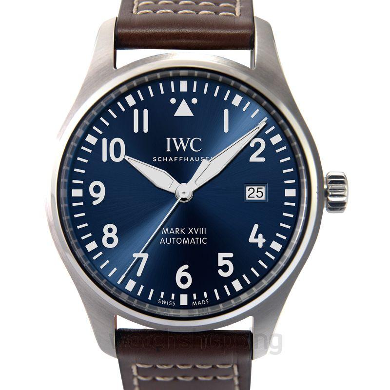 IWC Pilot Automatic Blue Dial Unisex Watch