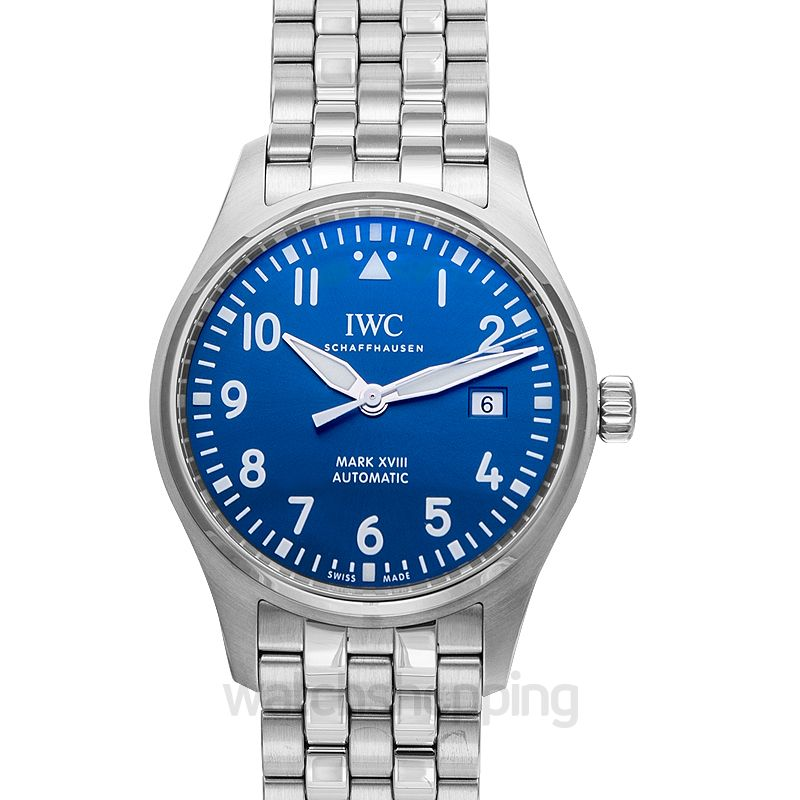 IWC Pilot Automatic Blue Dial Unisex Watch