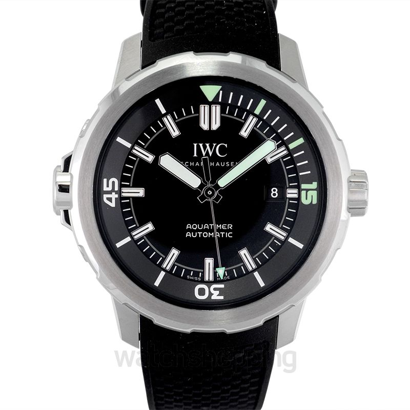 IWC Aquatimer Automatic Stainless Steel / Black / Rubber