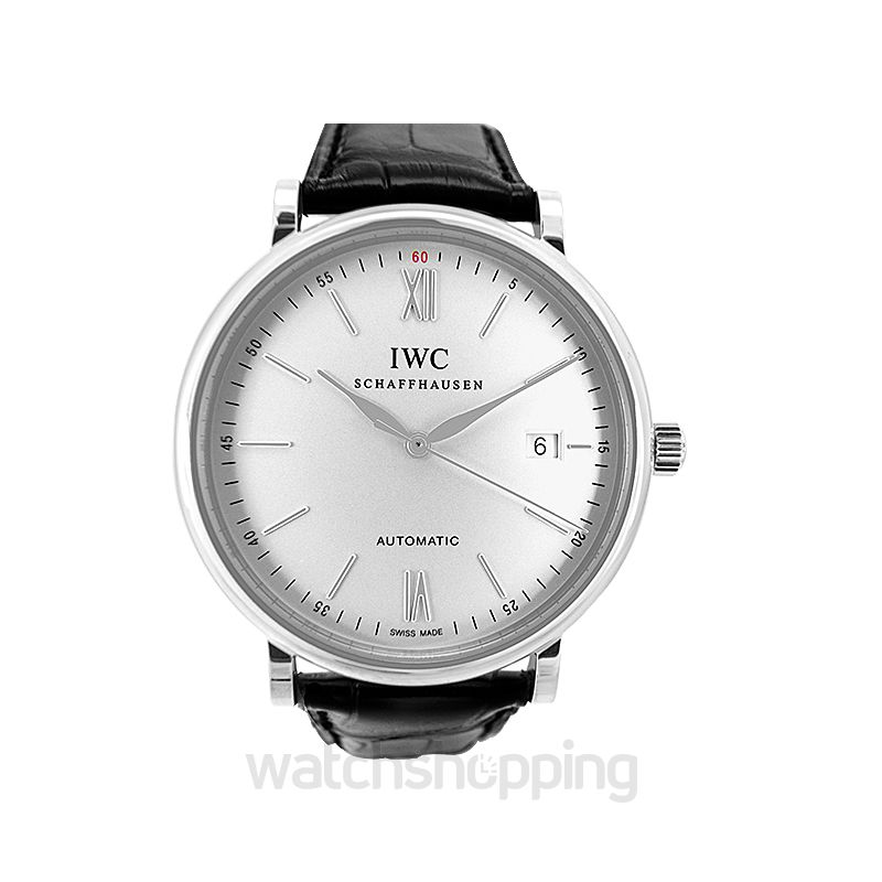 IWC Portofino Automatic Stainless Steel / Silver