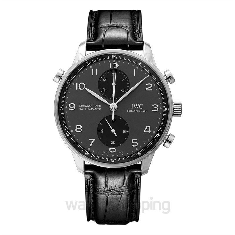 IWC Portugieser Manual-winding Black Dial Men's Watch