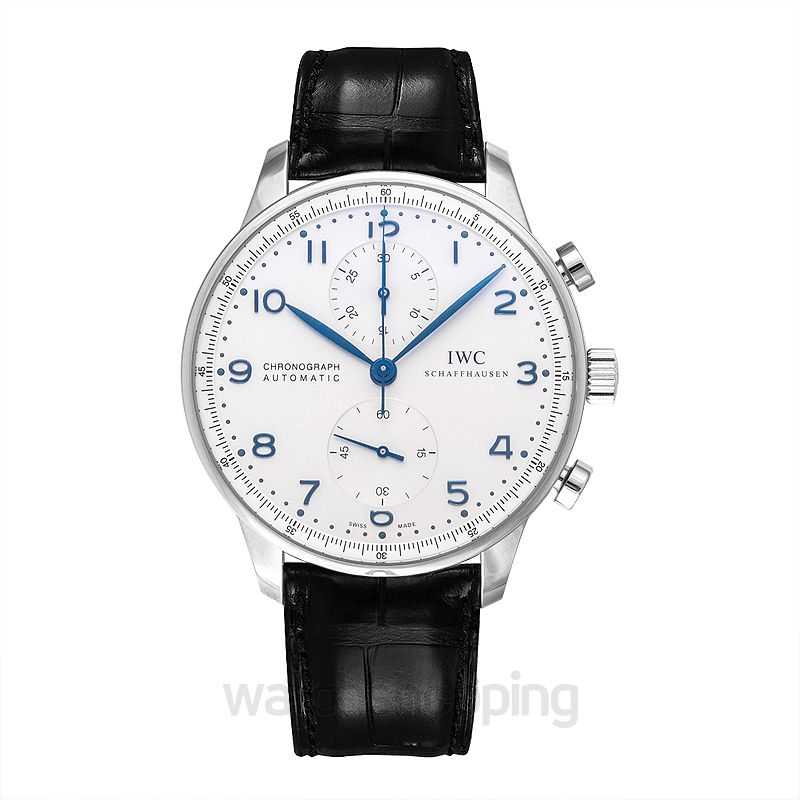 IWC Portugieser Chronograph Automatic White Dial Men's Watch