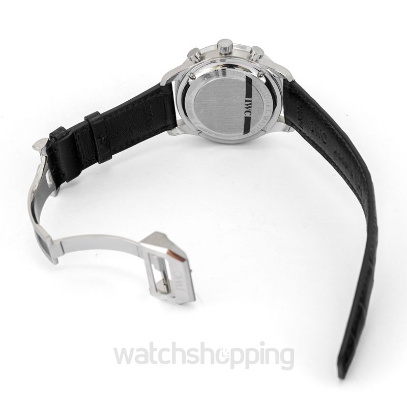 IWC IWC Portuguese Automatic Chronograph Black Dial Men's Watch 3714-47