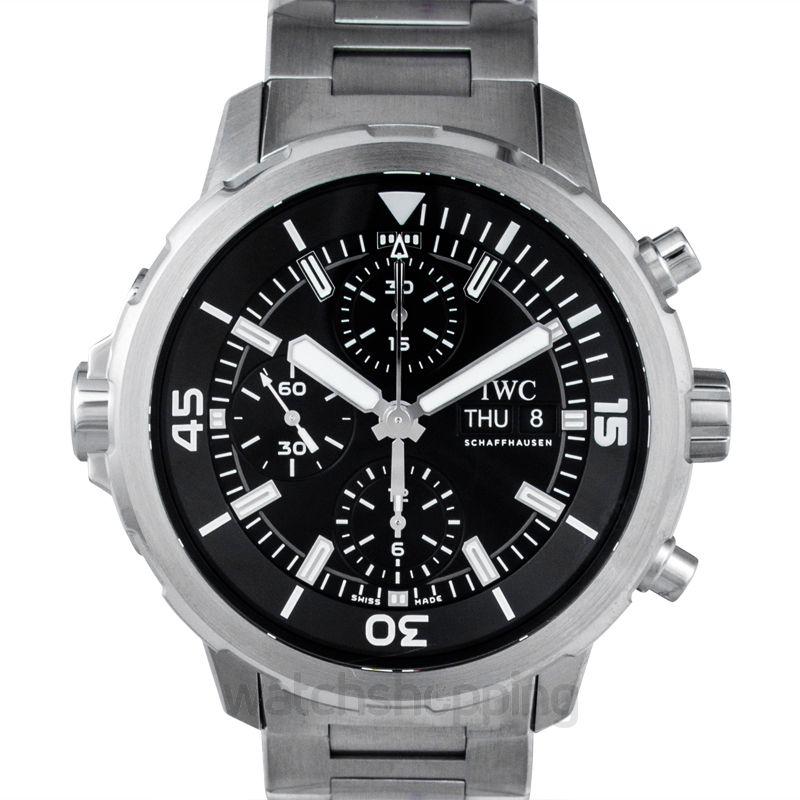 IWC Aquatimer Automatic Black Dial Men's Watch