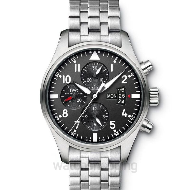 IWC Pilot's Watches Automatic Black Dial Unisex Watch