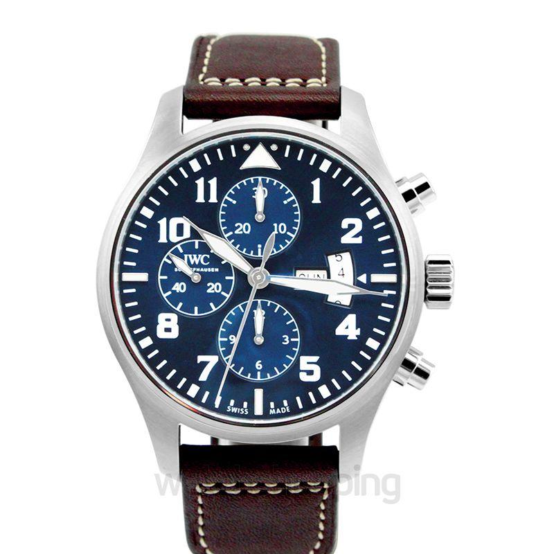 IWC Pilot Automatic Blue Dial Men's Watch