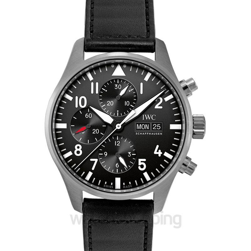 IWC Pilot Automatic Black Dial Unisex Watch