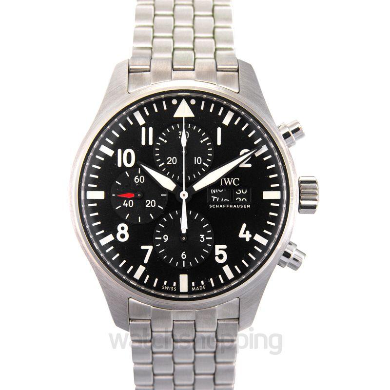IWC Pilot's Watch Chronograph Automatic Black Dial Unisex Watch