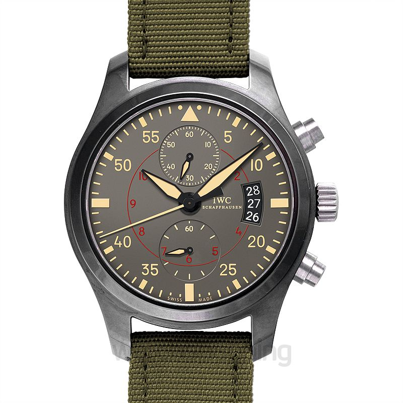 IWC Pilot Automatic Grey Dial Unisex Watch