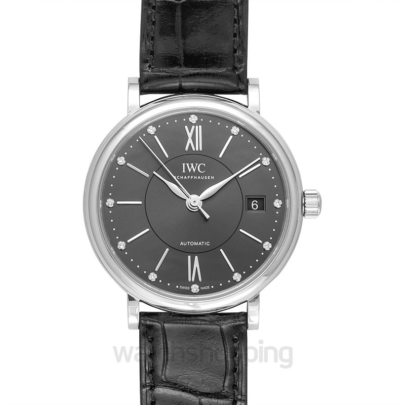 IWC Portofino Automatic Grey Dial Unisex Watch