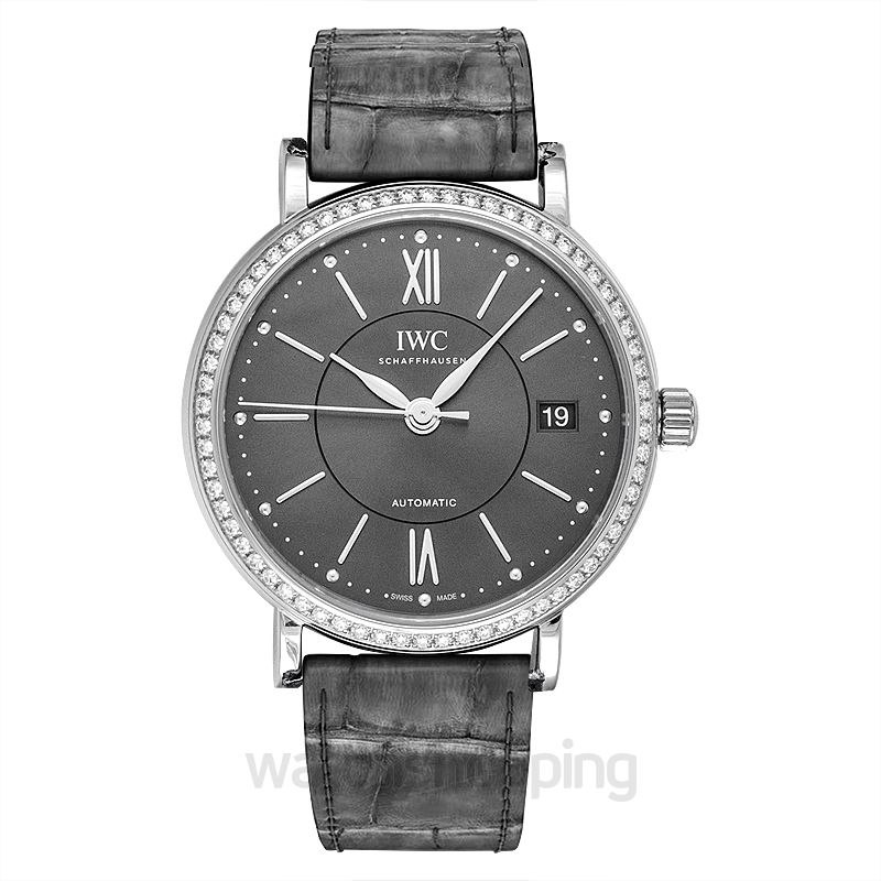IWC Portofino Automatic 37 Automatic Grey Dial Men's Watch