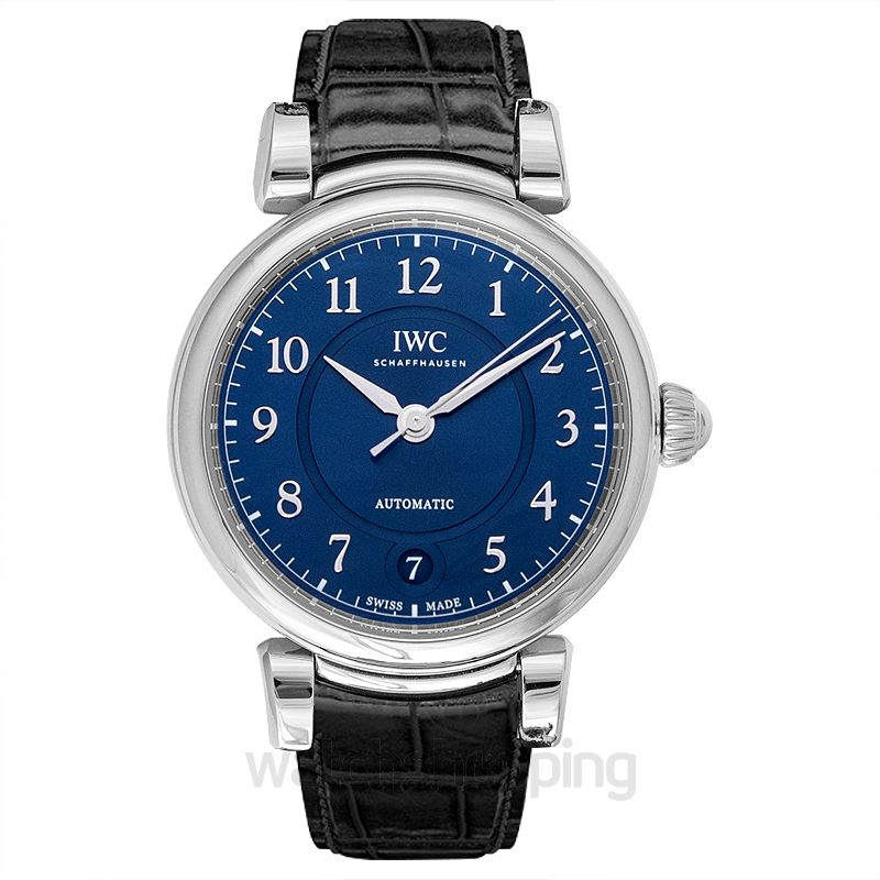 IWC Da Vinci Automatic 36 Automatic Blue Dial Men's Watch