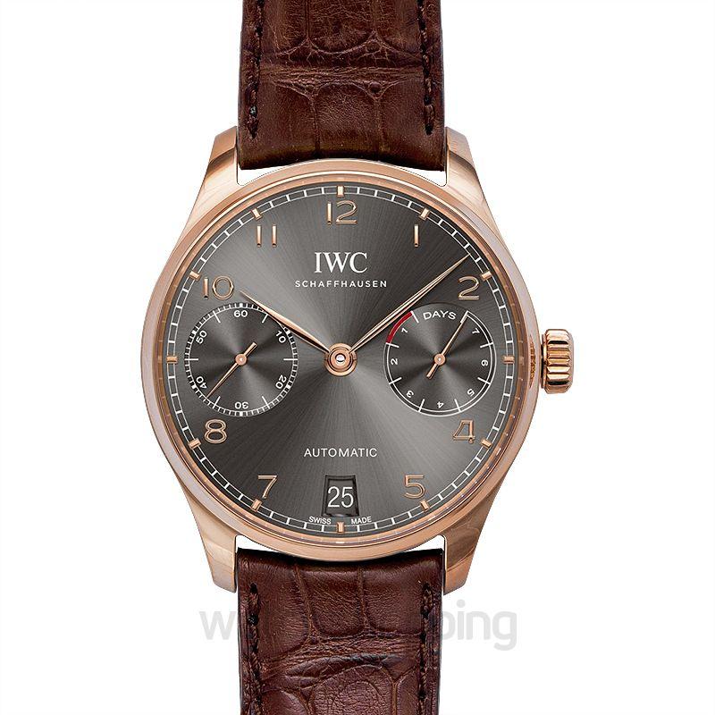 IWC Portugieser Automatic Grey Dial Men's Watch