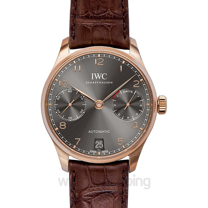 IWC Portugieser Automatic Grey Dial Men's Watch