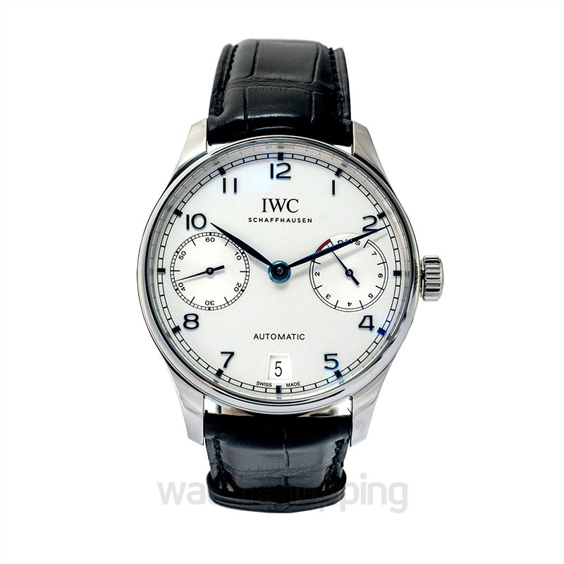 IWC Portugieser Automatic Silver Dial Men's Watch