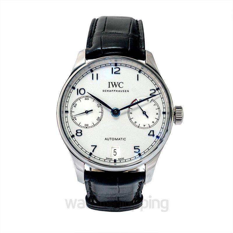 IWC IWC Portugieser Automatic Silver Dial Men's Watch IW500705