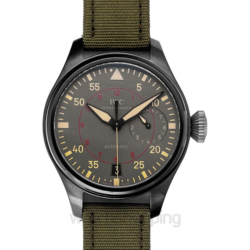 IWC Pilot Automatic Grey Dial Men's Watch