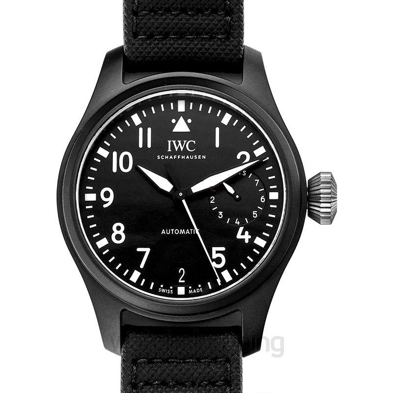 IWC Pilot's Watches Automatic Black Dial Men's Watch