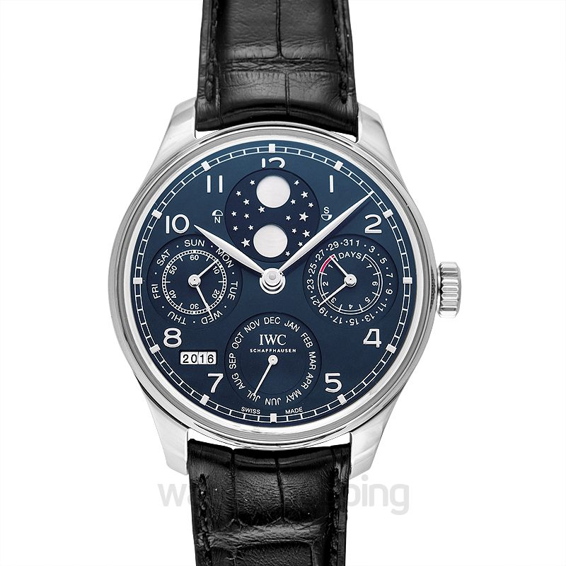 IWC Portugieser Automatic Blue Dial Men's Watch