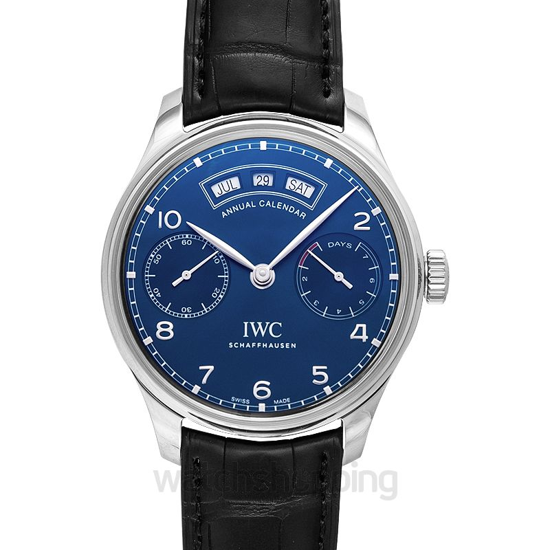 IWC Portugieser Automatic Blue Dial Men's Watch