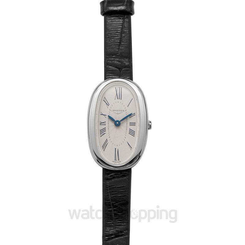 Longines Symphonette Quartz Silver Dial Ladies Watch