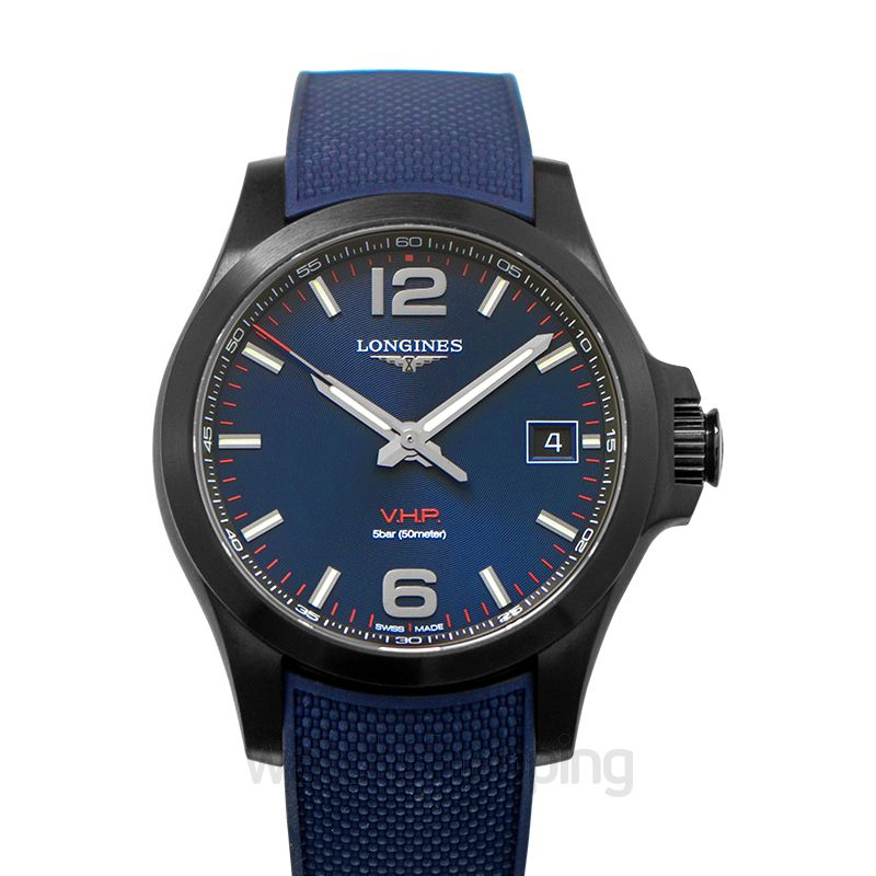 9268679863b New Longines Longines Conquest VHP Blue Dial Men's Watch L37162969 ...