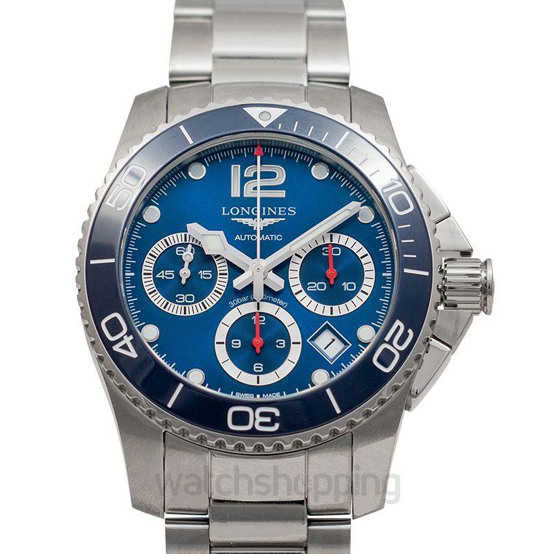 Longines Hydroconquest Automatic Blue Dial Men's Watch