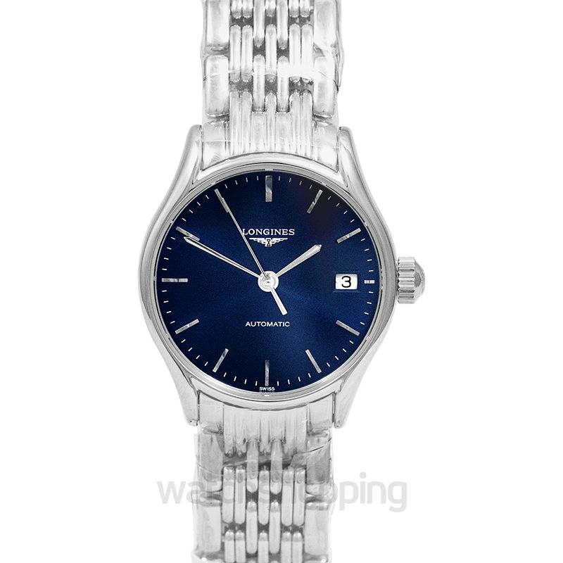Longines Lyre Automatic Blue Dial Ladies Watch