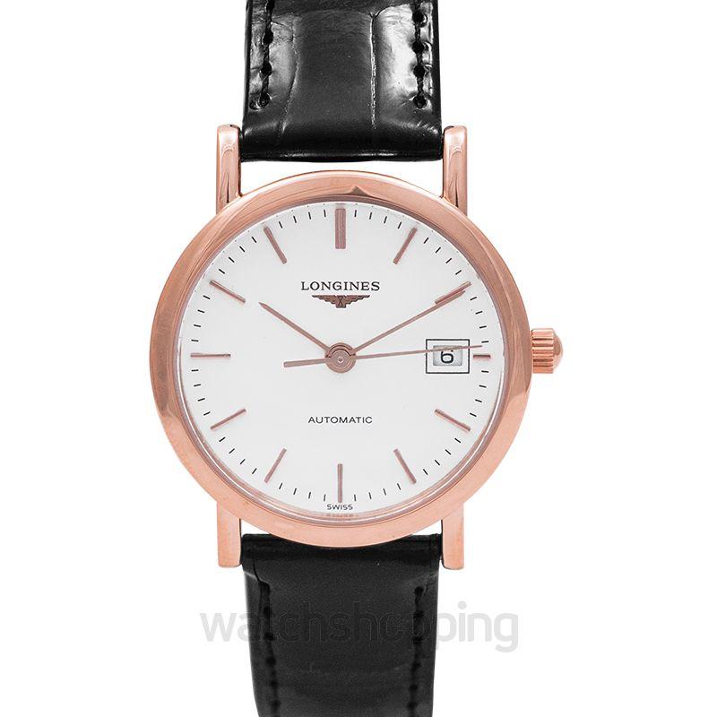 Longines Elegant Automatic White Dial Ladies Watch