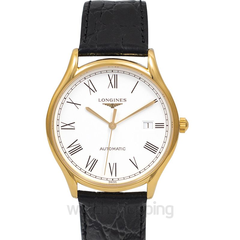 Longines Lyre Automatic White Dial Men's Watch