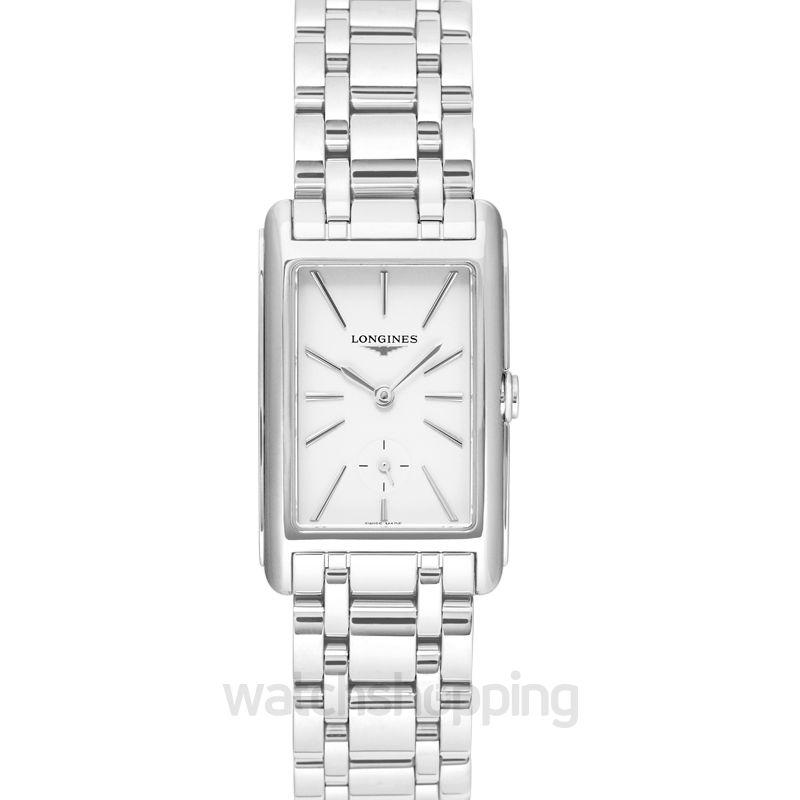 Longines DolceVita Quartz White Dial Ladies Watch