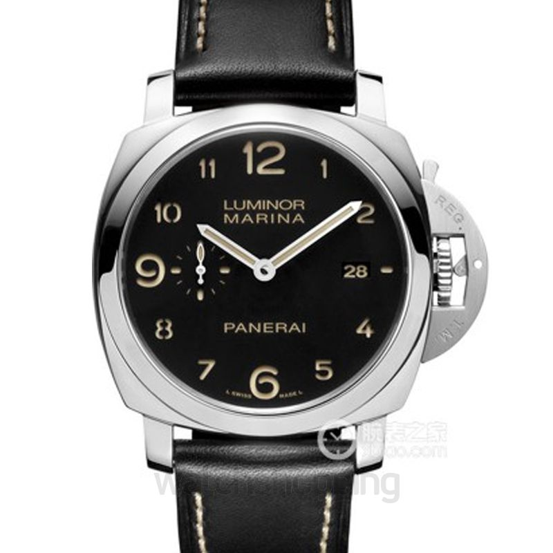 Panerai Luminor Automatic Black Dial Men's Watch