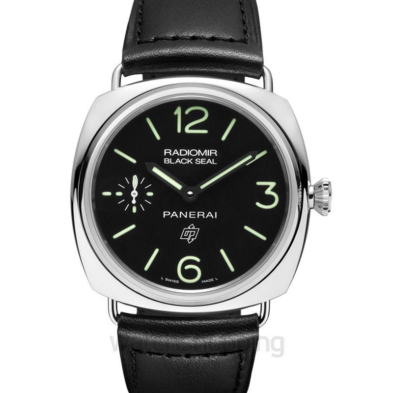 Panerai Radiomir Black Seal Logo Manual-winding Black Dial 45 mm Men's Watch